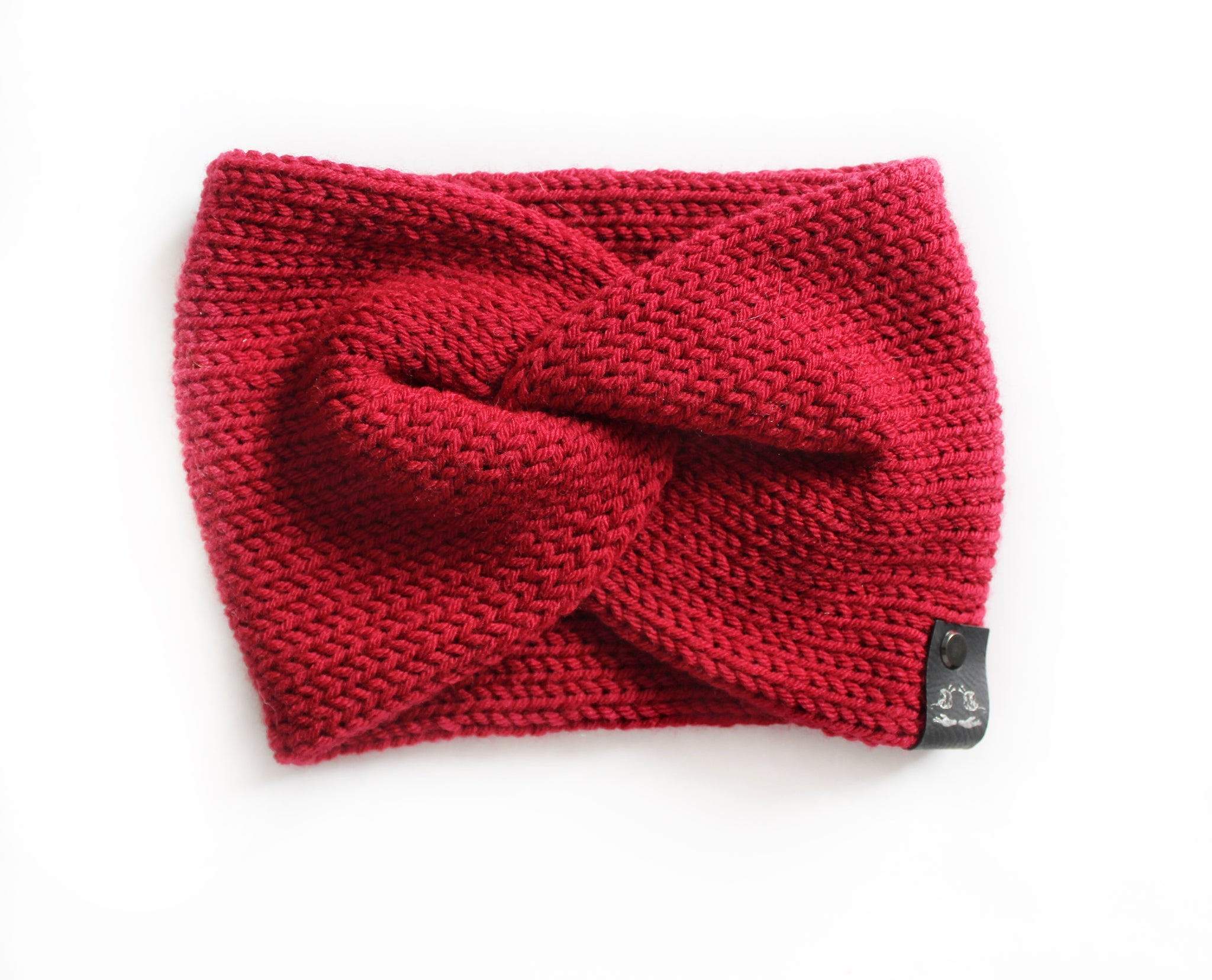 Twisted Earwarmer | Chili Red