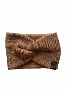 Twisted EarWarmer | Brownie