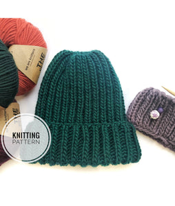 KNITTING PATTERN | The Woodland Beanie