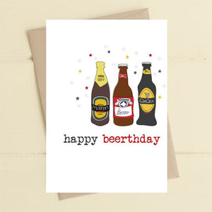 Happy Beerthday - Card