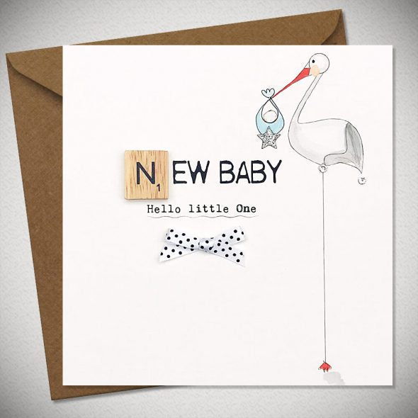 BB New Baby - Hello Little One (B) - card