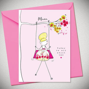 BB Mum, today is about you - card