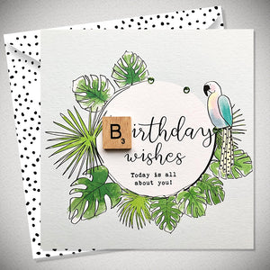 Birthday Wishes parrot