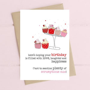 Birthday full of cake - Card