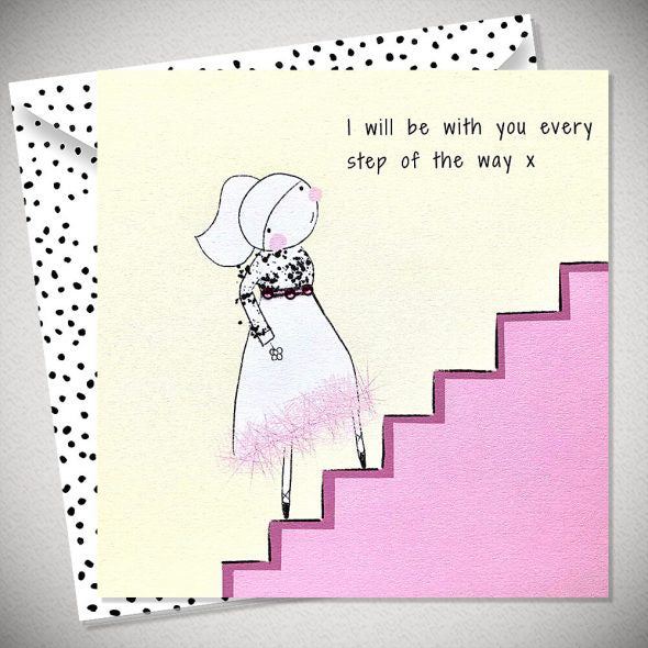 BB Every step of the way - card