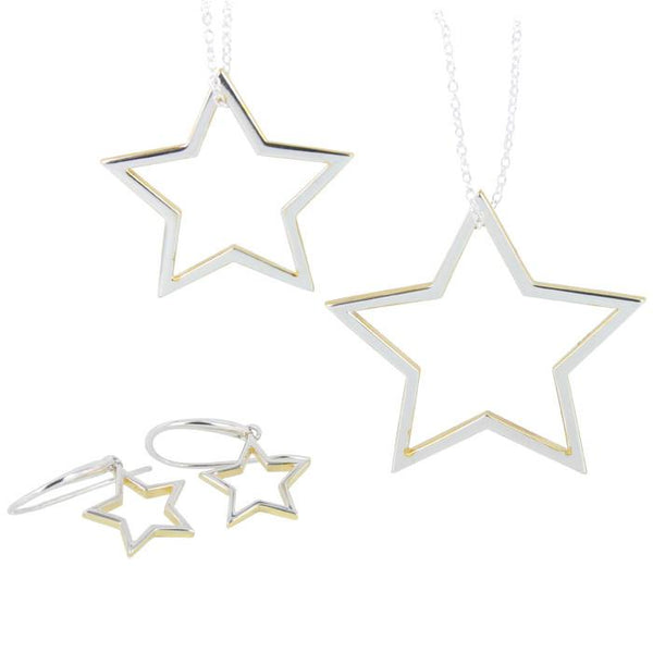 Star Shadow Necklace