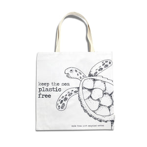 Recycled Cotton Canvas Shopper