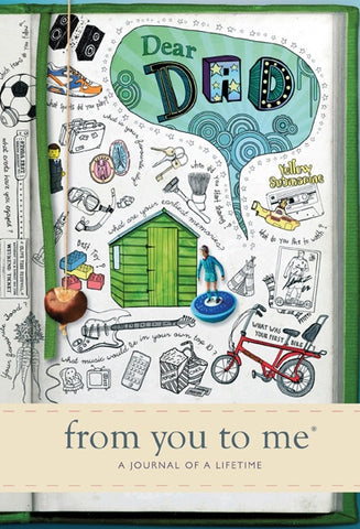 Dear Dad From You To Me Journal