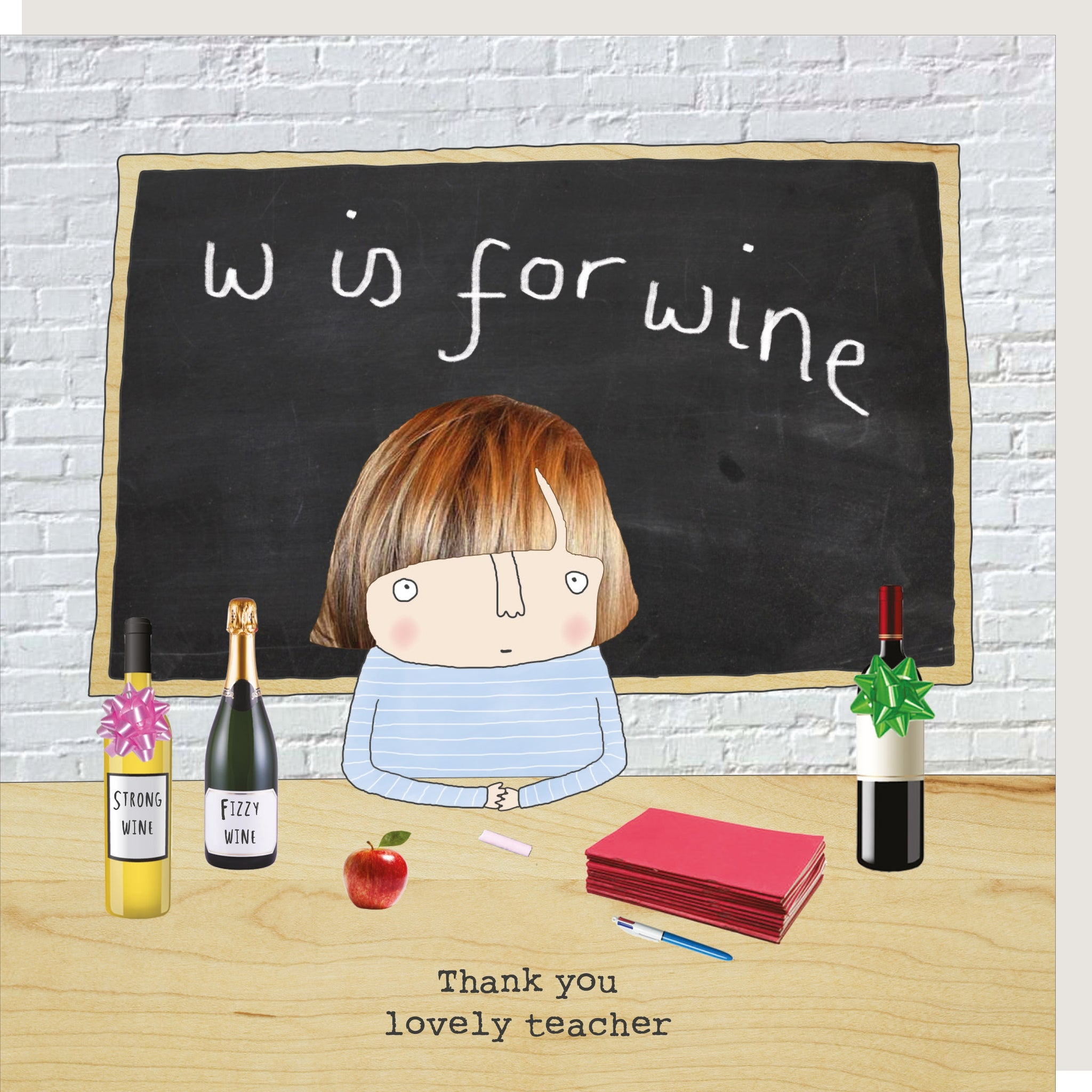Wine Teacher - Card