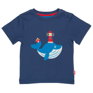 Kite Wonder whale t-shirt