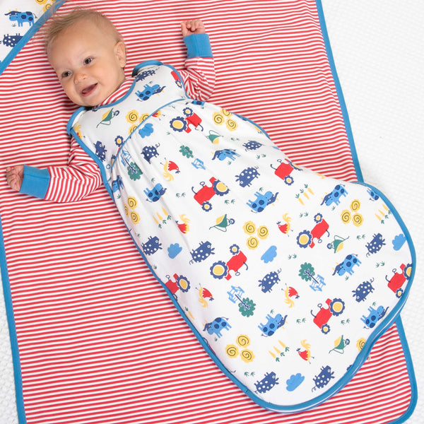 Farm life sleeping bag
