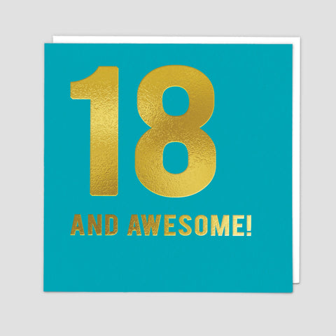 18 Awesome - Card