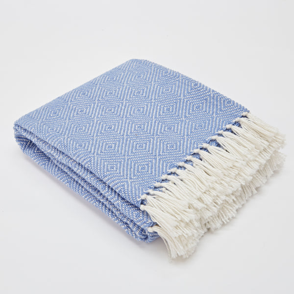 Diamond Blanket - Cobalt