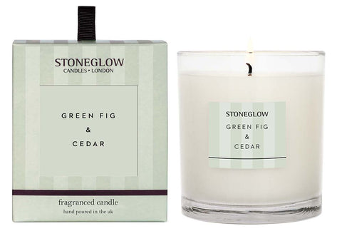 Modern Classic Candle - Green Fig and Cedar