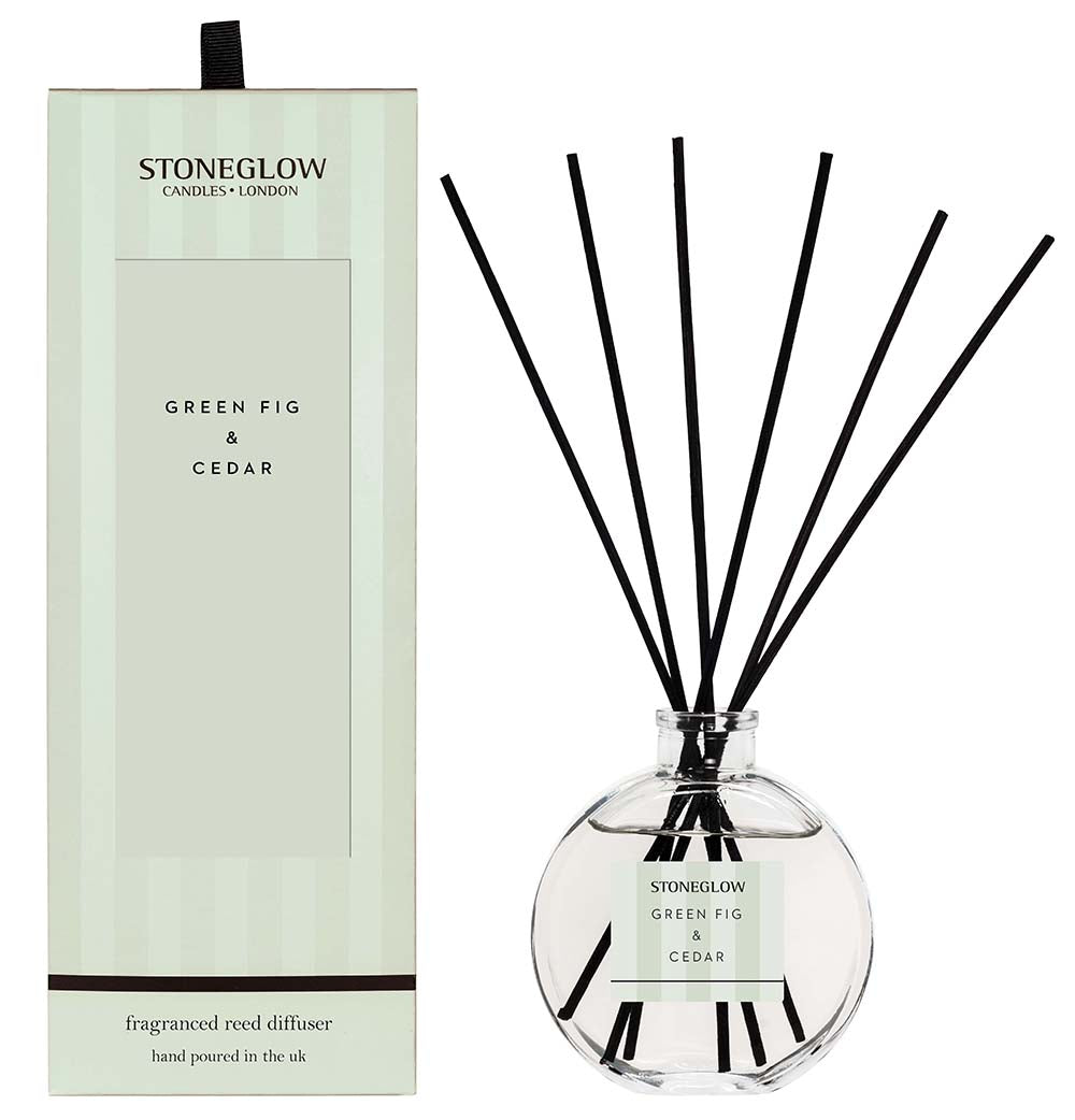 Modern Classic Reed Diffuser - Green Fig and Cedar