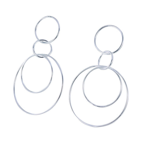 Halo Drop Earrings