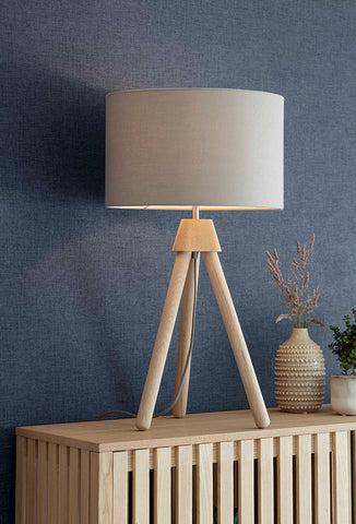 Hambledon Table Lamp - Oak