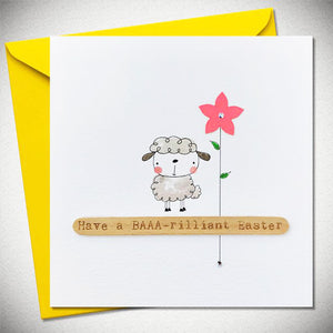 BB Baaa-rilliant Easter - Card