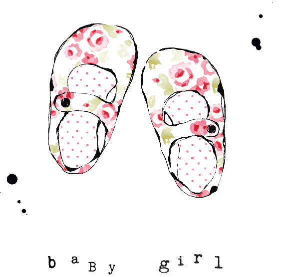 SSD Baby Girl - Card