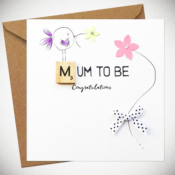 BB Mum To Be - card
