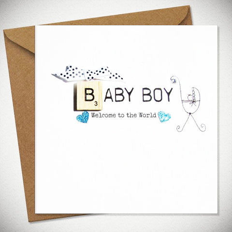BB Baby Boy - card