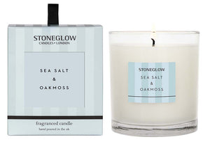 Modern Classic Candle - Seasalt and Oakmoss
