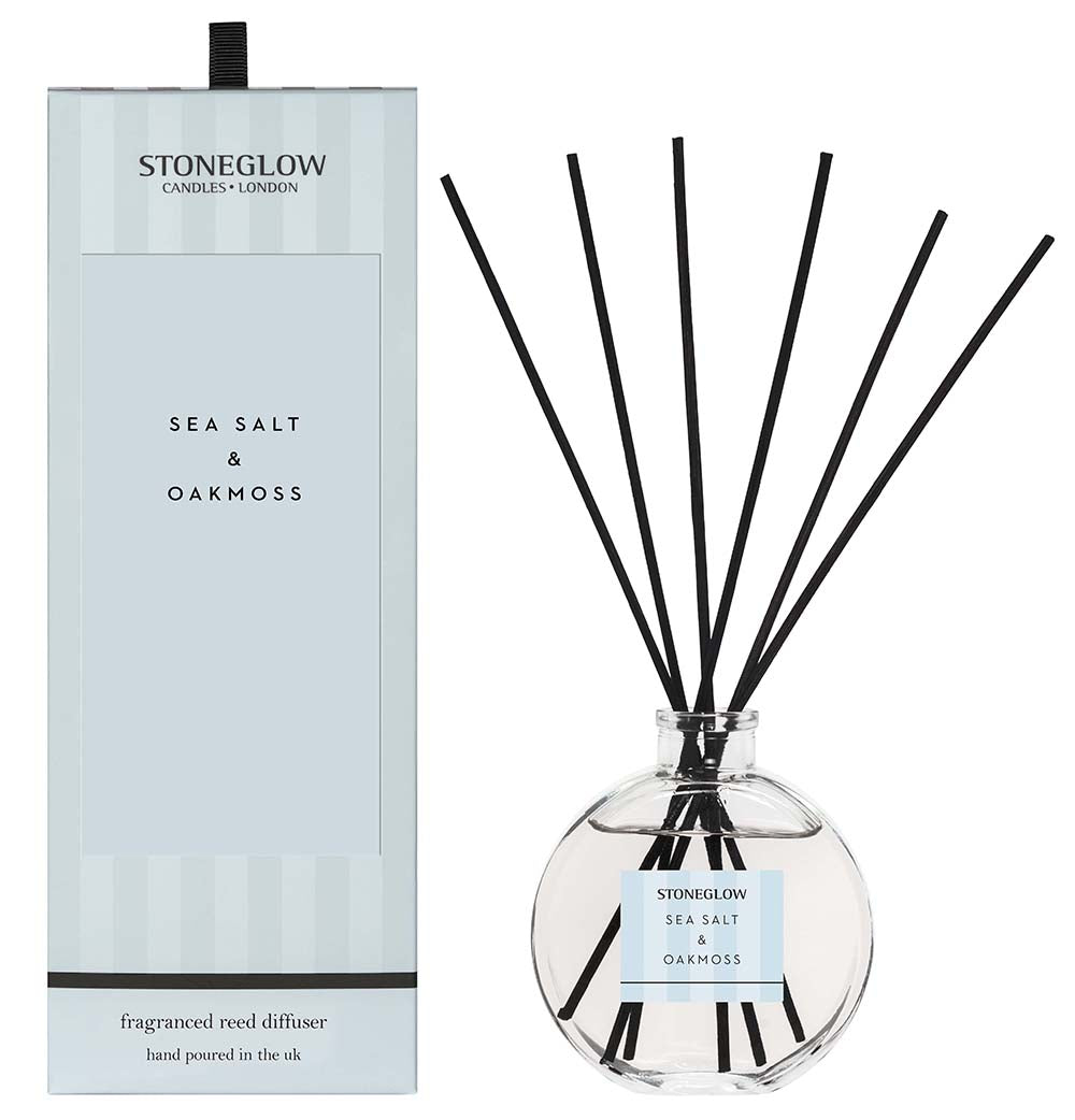 Modern Classic Reed Diffuser - Seasalt and Oakmoss