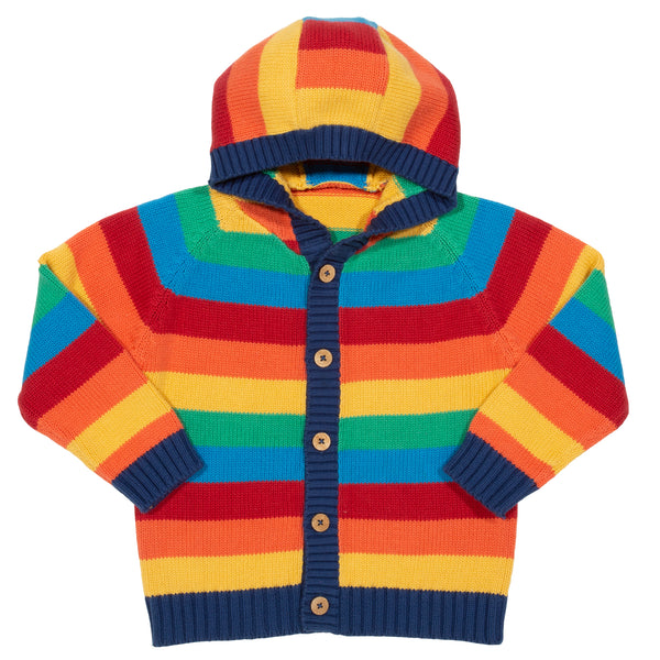 Kite Rainbow knit hoody