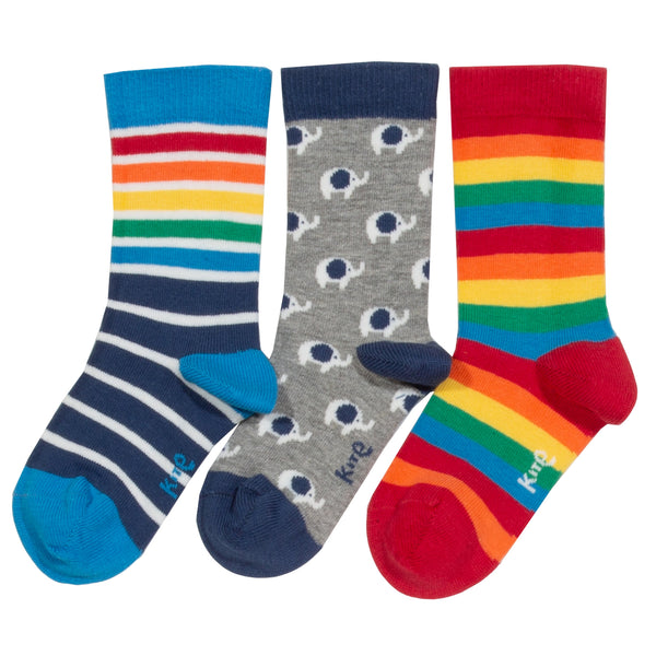 Kite 3 pk ellie socks