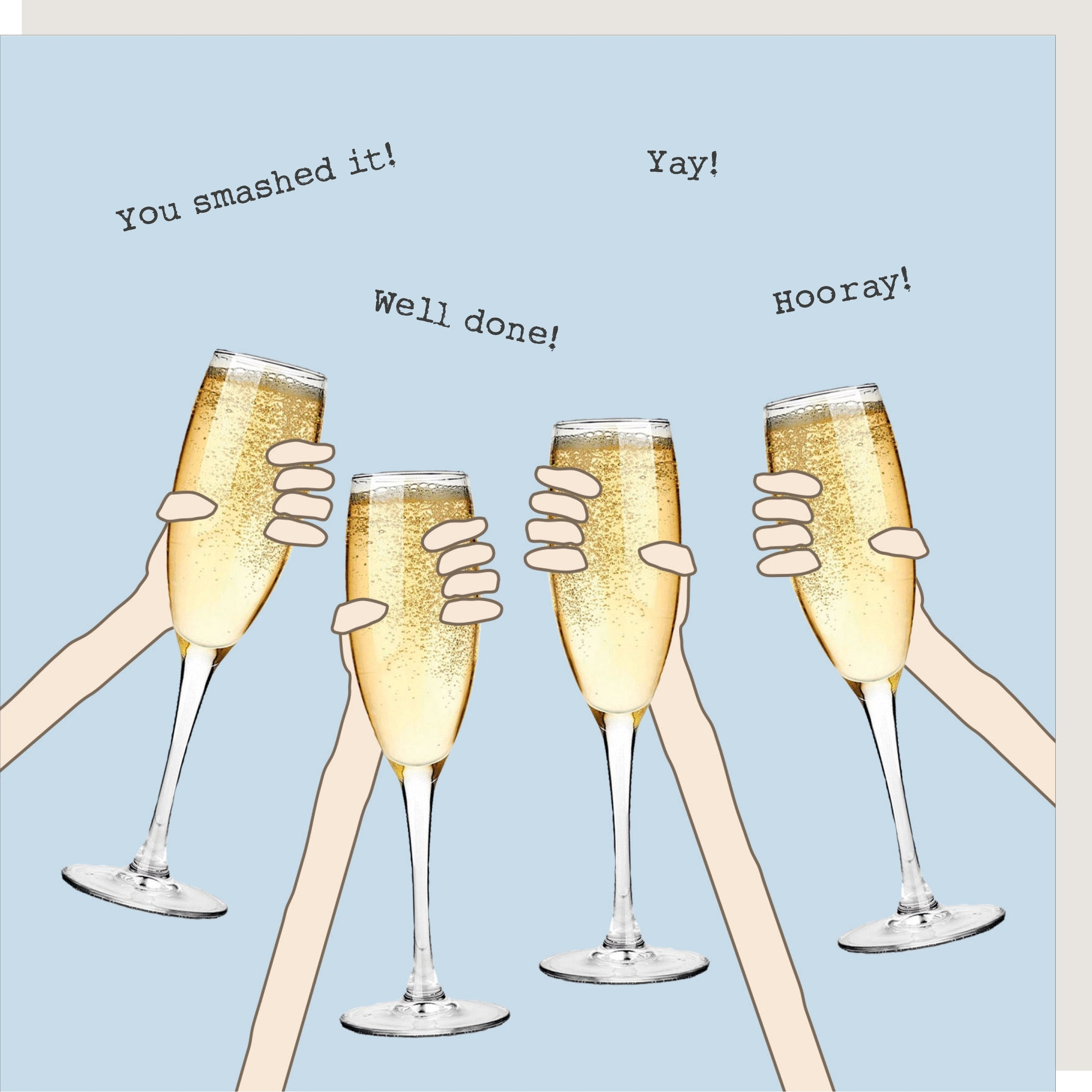 Well Done Cheers - Card