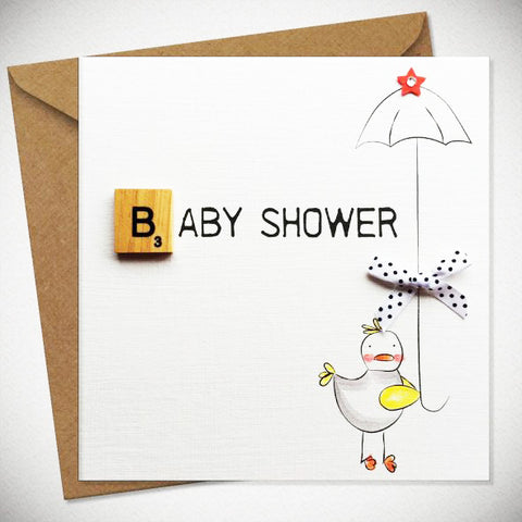 BB Baby Shower - Card