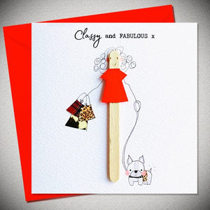BB Classy and Fabulous - card