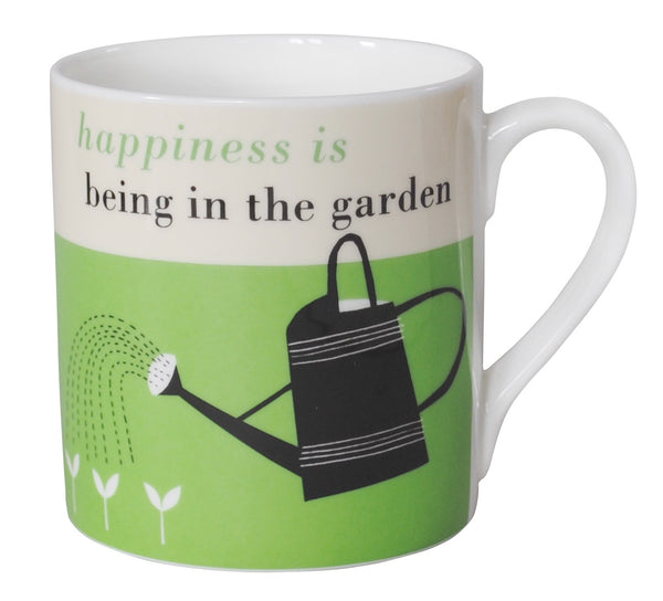 Happiness Gardening Mug - Green