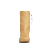 Pointed Toe Slouch Boot (BARE SERPENT)