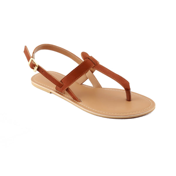 T-Strap Buckle Closure Sandals