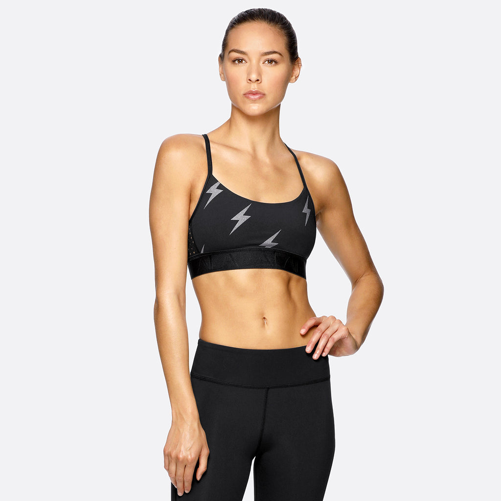 Crest Bra in Flash, {View 1} | Alala | Luxury Women's Activewear | Style meets Sport