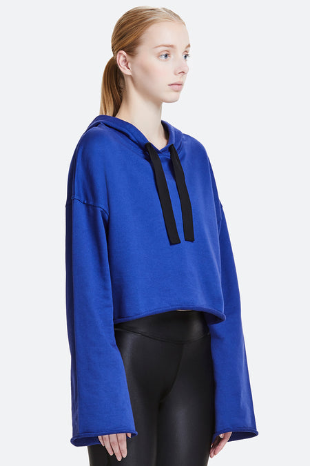 Royal Blue Stance Hoodie - Alala Women's Outerwear