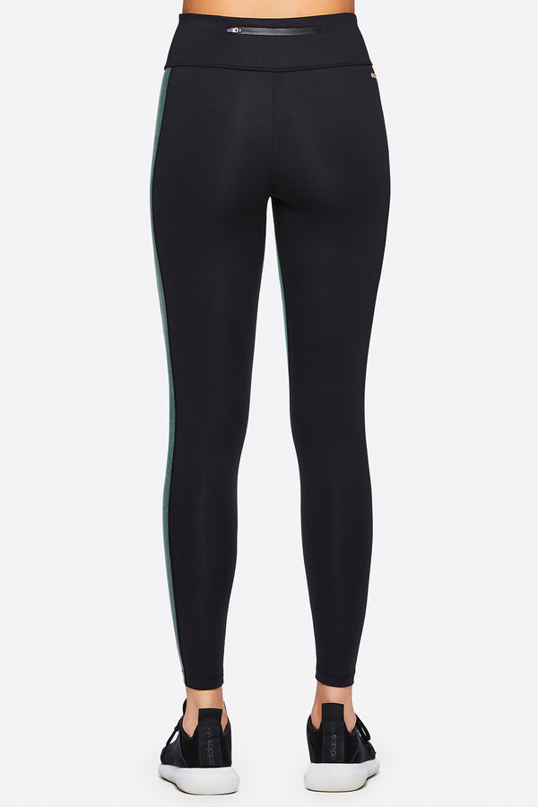 Alala's Patchwork Tight Side View- Women's Gym Tights