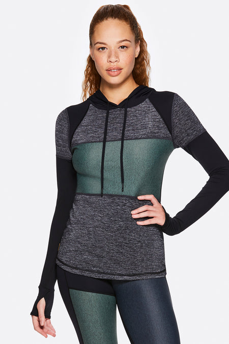 Patchwork Hoodie for Women | Alala