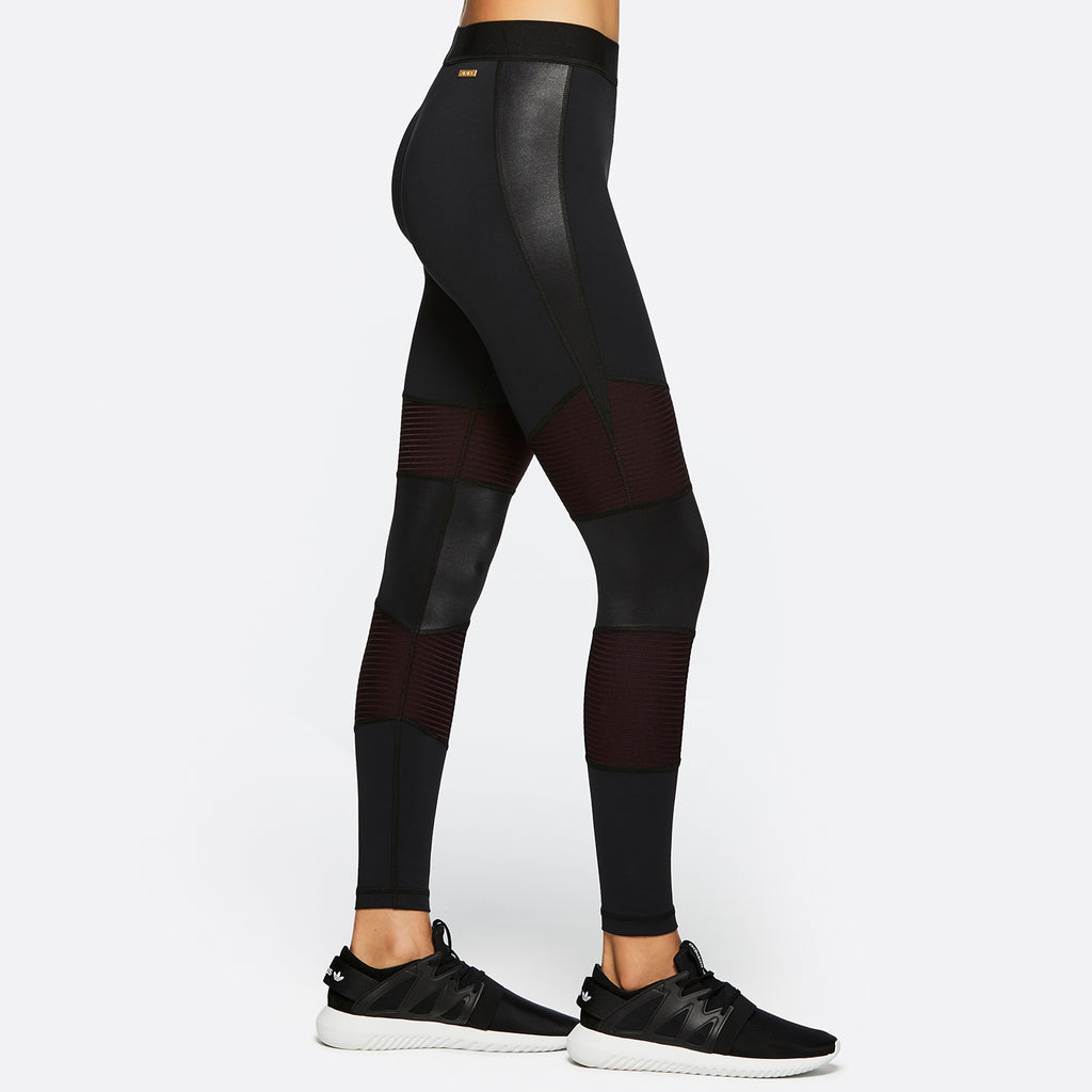 Harley Tight in Black + Merlot, {View 1} | Alala | Luxury Women's Activewear | Style meets Sport