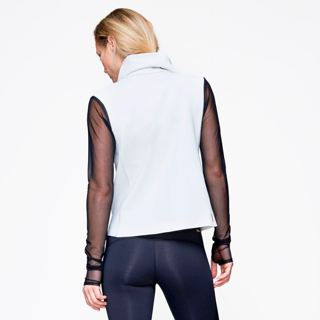 Sophisticate Jacket in Bone, {View 2} | Alala | Luxury Women's Activewear | Style meets Sport