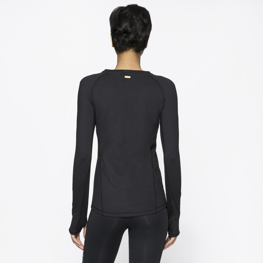 Run Crew in Black, {View 2} | Alala | Luxury Women's Activewear | Style meets Sport