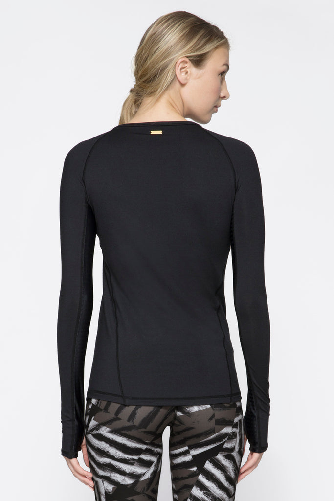 Run Crew in Embossed Check, $81 | Alala | Luxury Womens Activewear | Style meets Sport