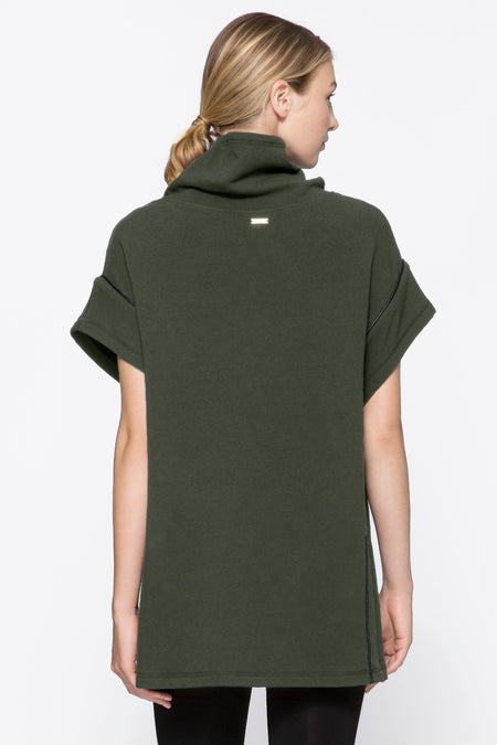 Storm Poncho in Army, {View 2} | Alala | Luxury Women's Activewear | Style meets Sport