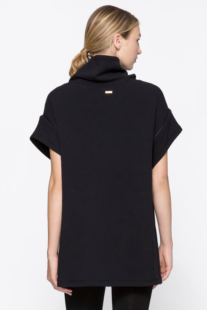 Storm Poncho in Black, $145 | Alala | Luxury Womens Activewear | Style meets Sport