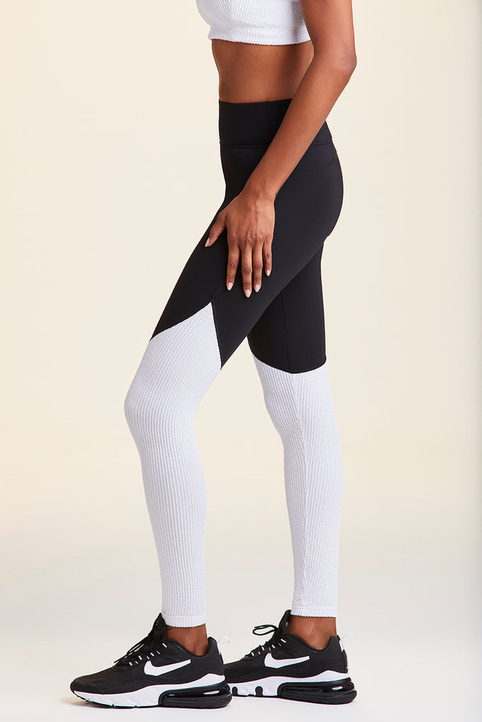 Alala WAVY TIGHTS in Black and White