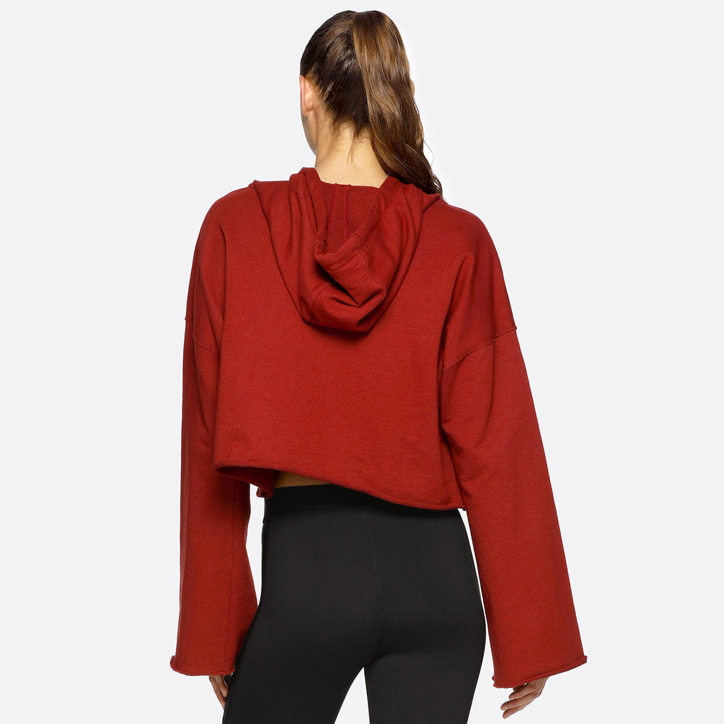 Stance Hoodie in Spice, {View 2} | Alala | Luxury Women's Activewear | Style meets Sport