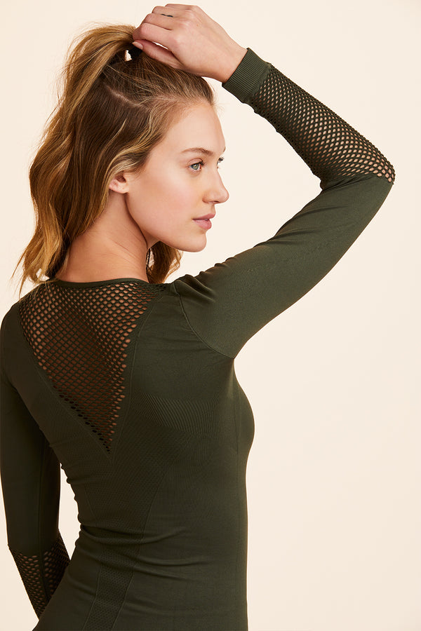 Essential Seamless Long Sleeve Tee