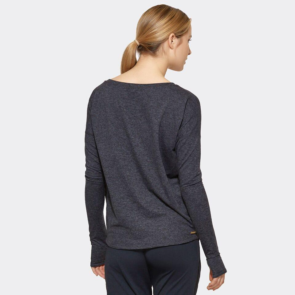 Cool Down Tee in Charcoal, {View 2} | Alala | Luxury Women's Activewear | Style meets Sport