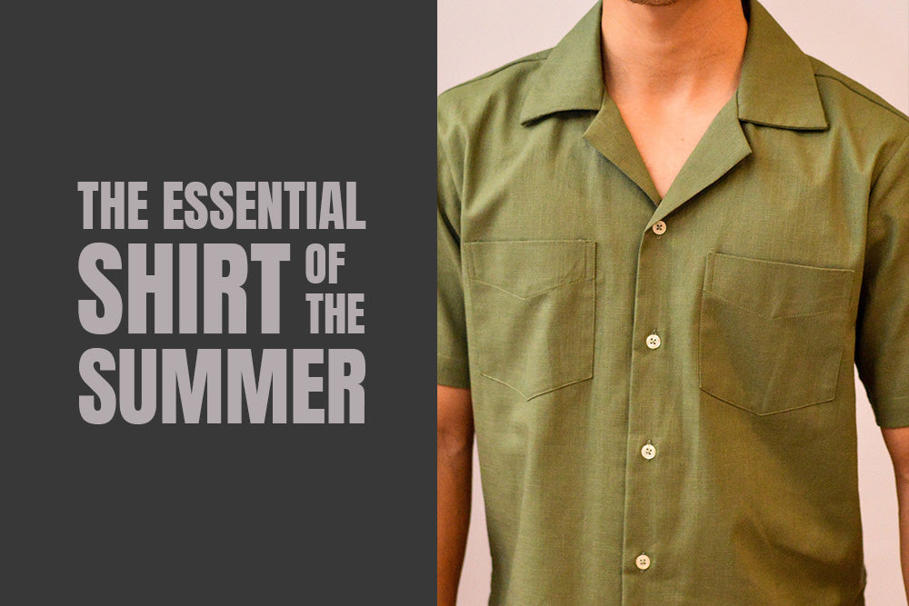Idée Boutique Store in Makati: The Camp Collar Shirt is the Essential Shirt of the Summer